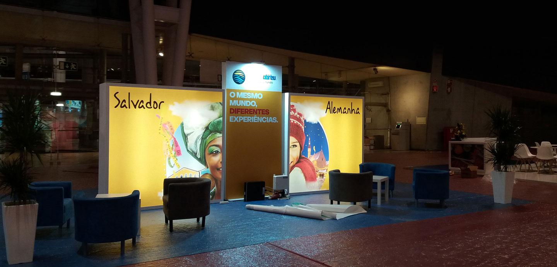 Stand Abreu Viagens, por FILDesign, na Expo Abreu 2019