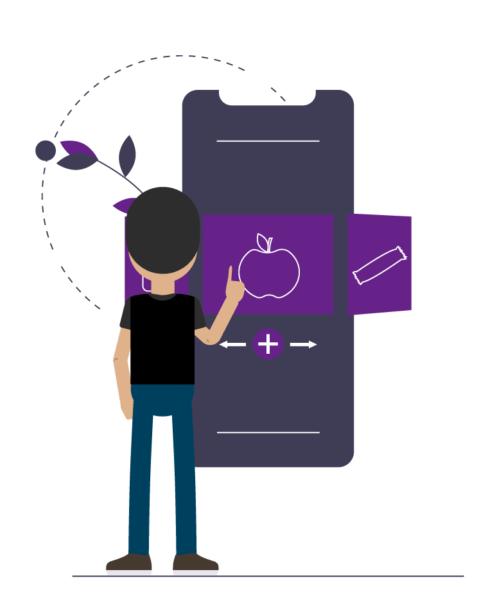 Crie uma aplicação mobile com a sua ementa