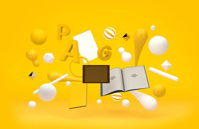 Design Gráfico - Paginação de layouts
