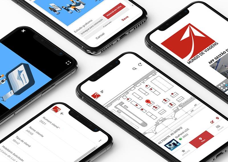 Aplicação mobile para gestão de eventos